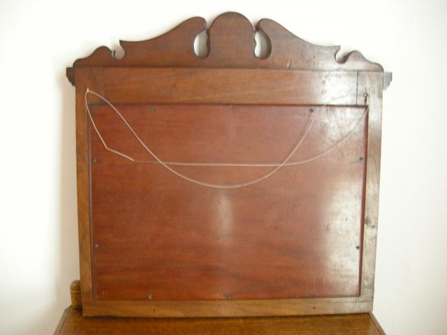 アンティーク イギリスで買い付けた オークミラー