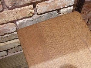 アンティーク イギリスで買い付けた オークのベンチ