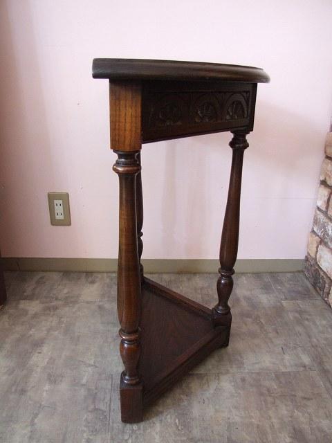 アンティーク イギリスで買い付けた オークのコンソールテーブル