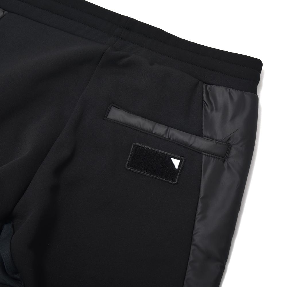 TFW49 ティーエフダブリュー49 COMBINATION PANTS コンビネーションパンツ BLACK