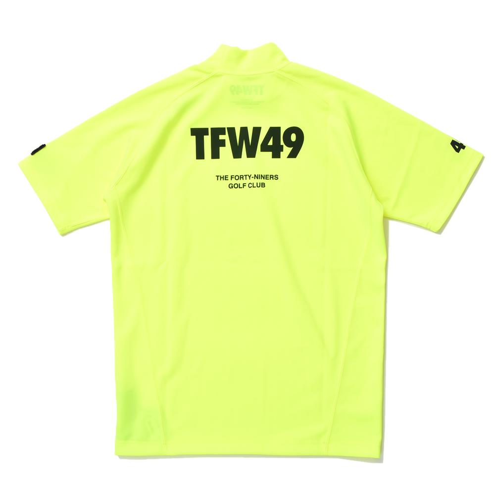 TFW49 ティーエフダブリュー49 MOCK-NECK-T モックネックT YELLOW