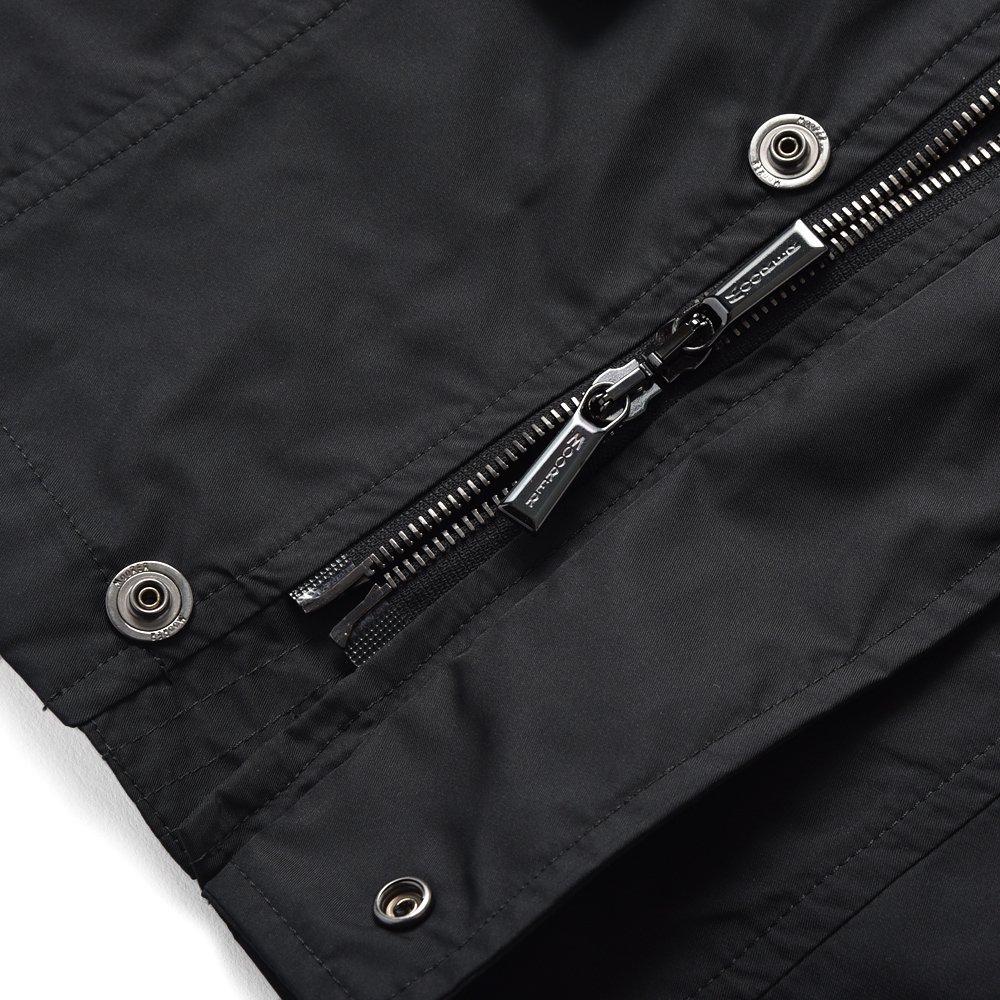 MOORER ムーレー MANOLO-KM M65 フィールドジャケット BLACK