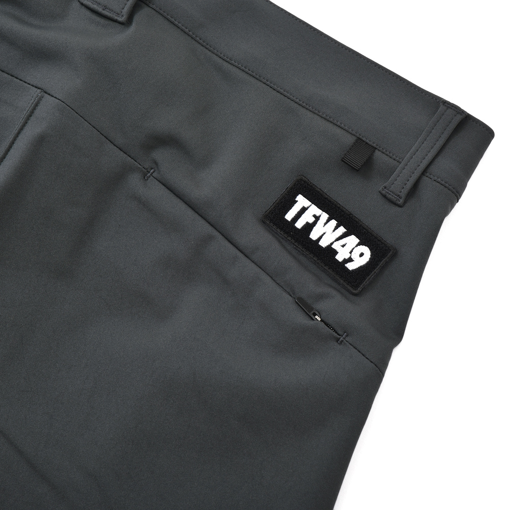 TFW49 ティーエフダブリュー49 ANKLE SLIM PANTS ハイパーストレッチスリムパンツ CHARCOAL