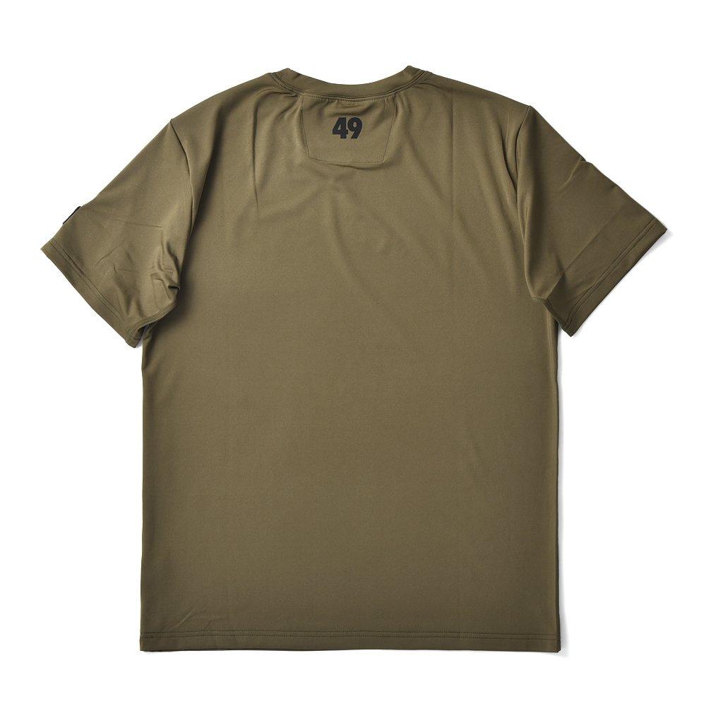 TFW49 ティーエフダブリュー49 CU06 TFW T-SHIRT ハイテクロゴTシャツ KHAKI