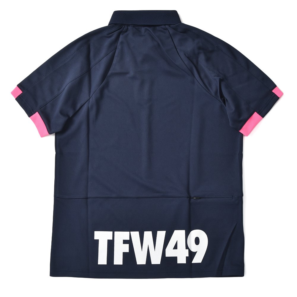 TFW49 ティーエフダブリュー49 CU07 ROF POLO ポロシャツ NAVY