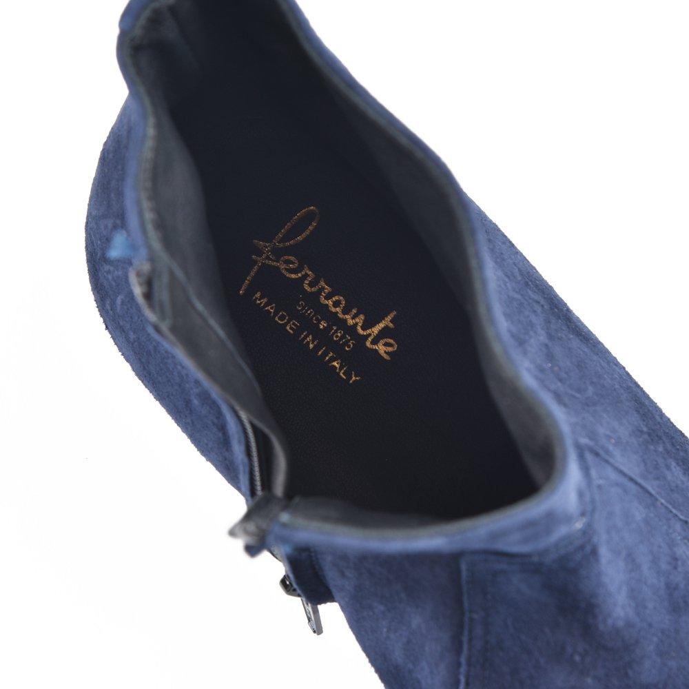 FERRANTE フェランテ PRINCE スエード サイドジップ ブーツ