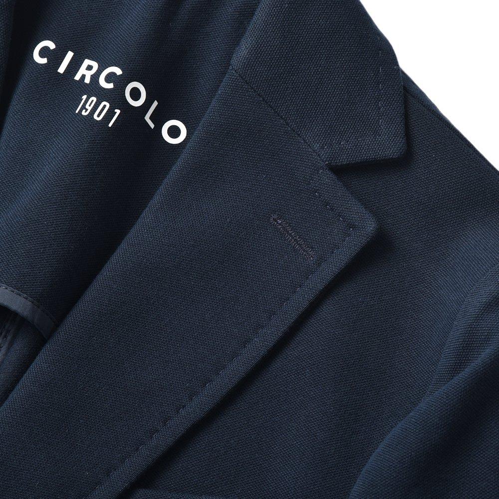 CIRCOLO 1901 チルコロ1901 コットン ピケ ジャージ ジャケット