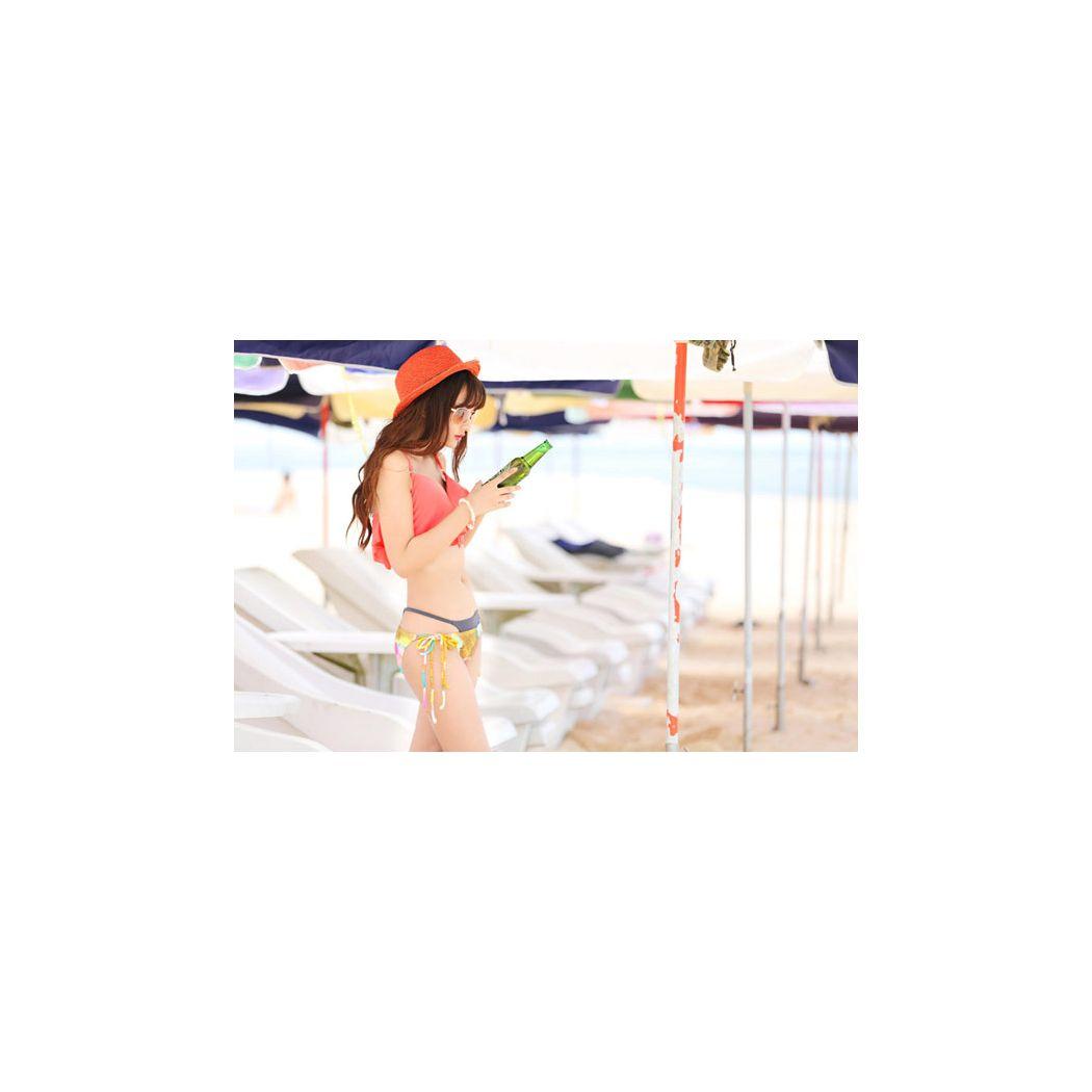 【訳あり】【アウトレット】 水着 レディース ビキニ バンドゥ ワイヤー入り 花柄 2点セット 大人 女性用 女の子 ガールズ フレア ビーチ プール セクシー  ガーリー リゾート 小胸