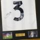 キエッリーニ直筆サイン入りユベントス20/21ホームユニフォーム特製フレーム