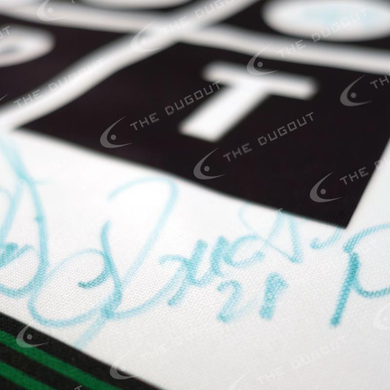スポルティング・リスボン マルチ直筆サイン入り選手支給02/03ホームユニフォーム