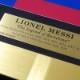 メッシ直筆サイン入りバルセロナ19/20ホームユニフォーム特製フレーム