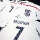 ベッカム直筆サイン入り選手支給イングランド代表07/09ホームユニフォーム