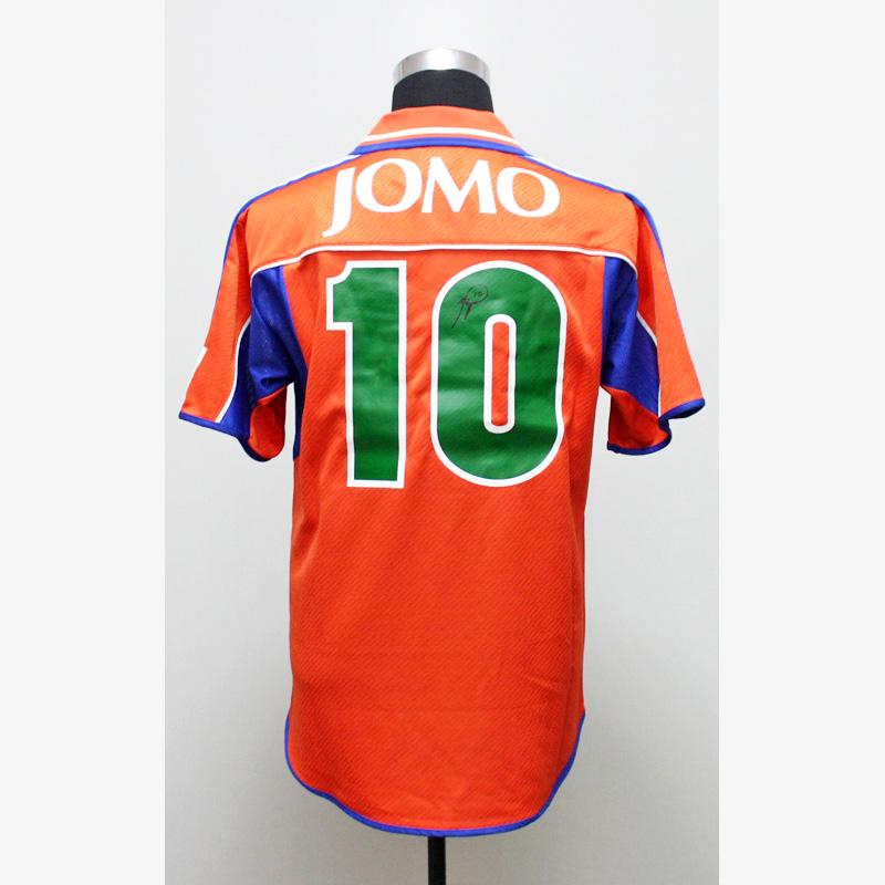 バッジョ直筆サイン入りワールドドリームスJOMOカップ2000ユニフォーム
