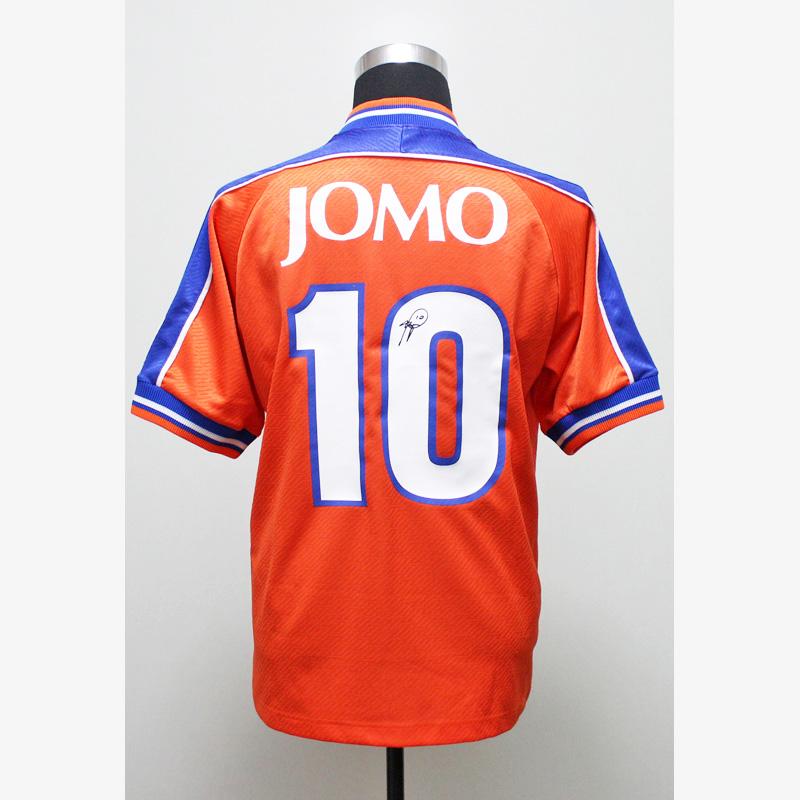 バッジョ直筆サイン入りワールドドリームスJOMOカップ1999ユニフォーム
