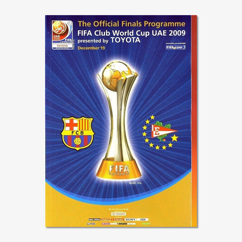 FIFAクラブワールドカップ2009優勝メダル (バルセロナ)