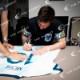 メッシ直筆サイン入りアルゼンチン代表2019ホームユニフォーム特製フレーム