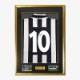 バッジョ直筆サイン入りユベントス94/95ホームユニフォーム特製フレーム