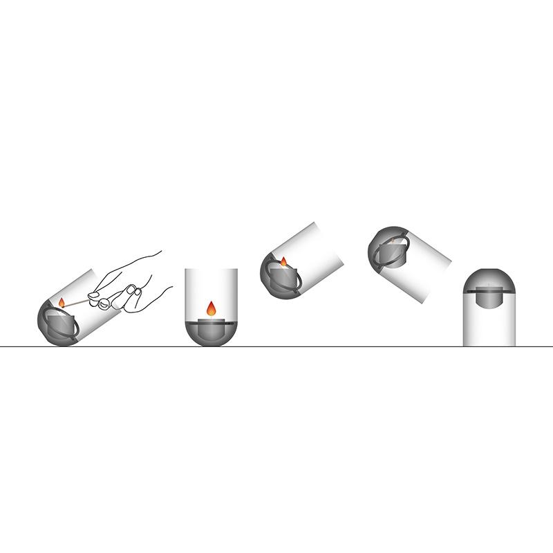 hofats(ホーファッツ)/ グラビティ・キャンドル ランタン _ GRAVITY CANDLE
