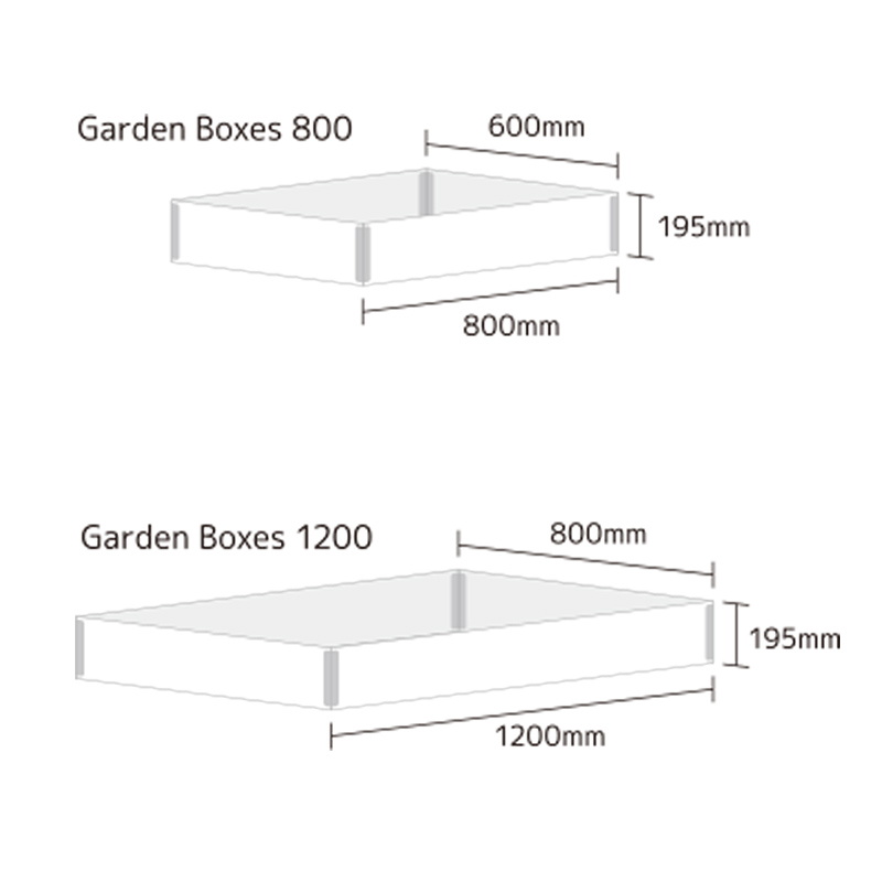 ガーデンボックス【Kronus】