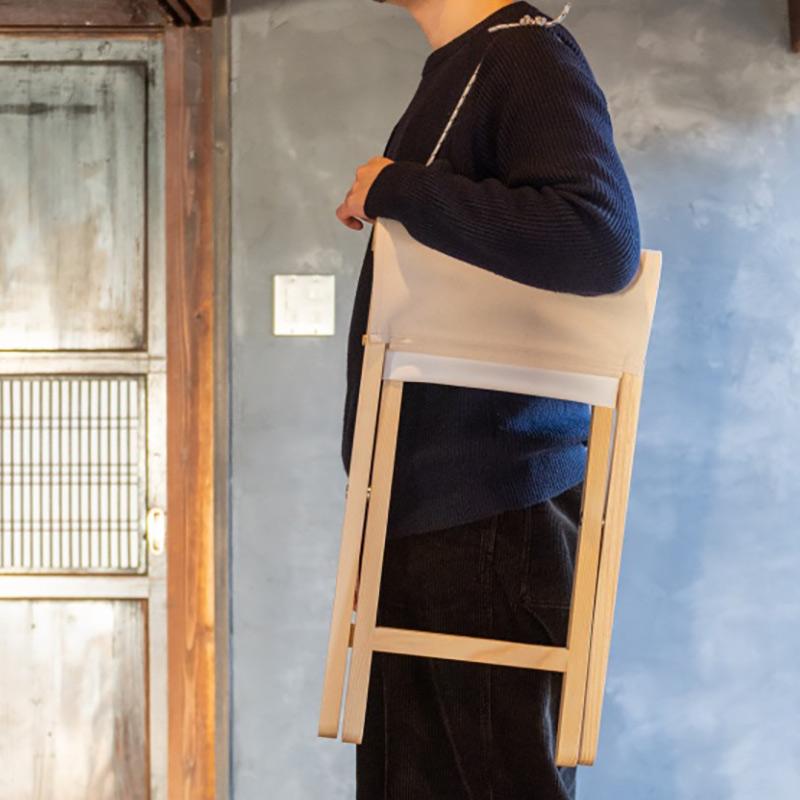Lottie's Stool 折りたたみ スツール / キナリ・スミ 【pioneer plants】