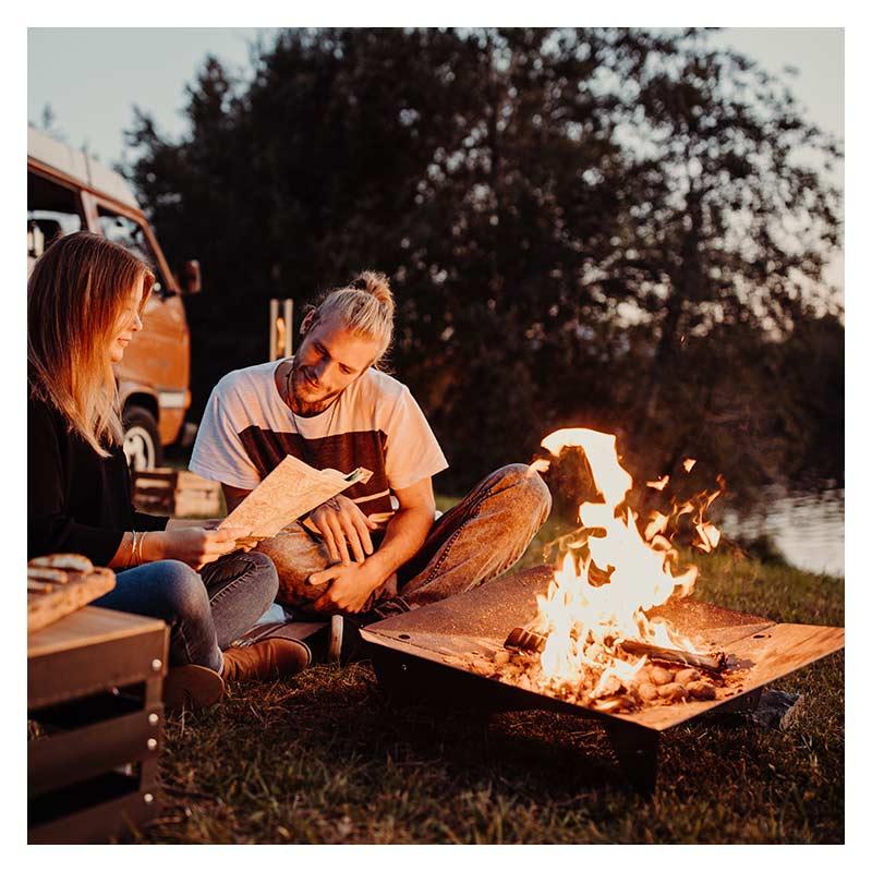 TRIPLE 90 Fire bowl|ホーファッツ/トリプル90 ・ファイヤー・ボウル 【hoefats】 / 焚火台 BBQグリル