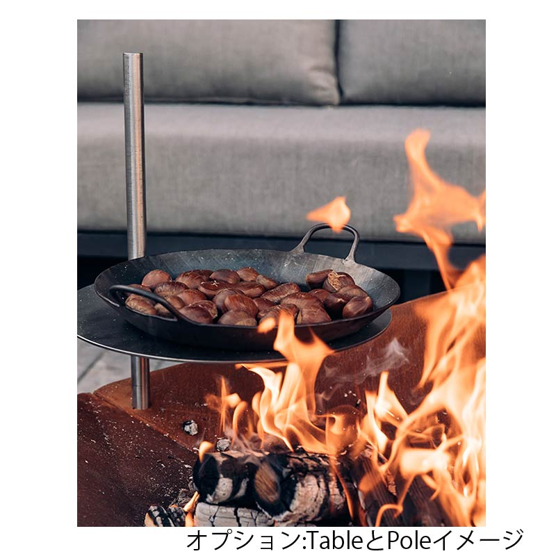 TRIPLE 120 Fire bowl|ホーファッツ/トリプル120 ・ファイヤー・ボウル  【hoefats】 / 焚火台 BBQグリル