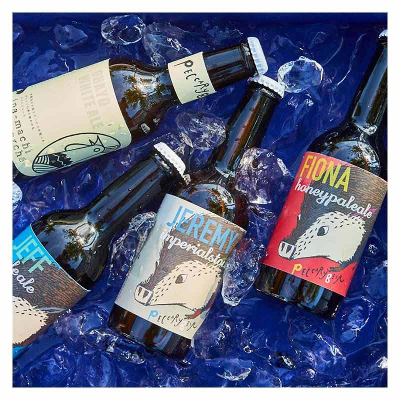 """ペッカリービール """" FIONA """"_Honey Pale Ale 330ml, 6本入り 【PECCARY BEER】"""