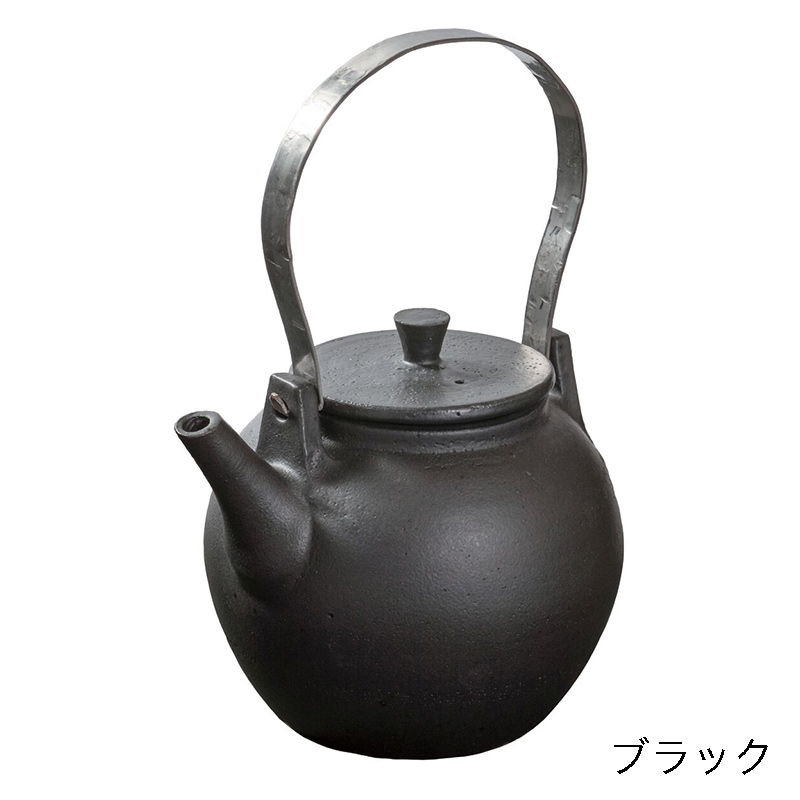 ケトル モダン _ ブラック  鈴木環&古陶里