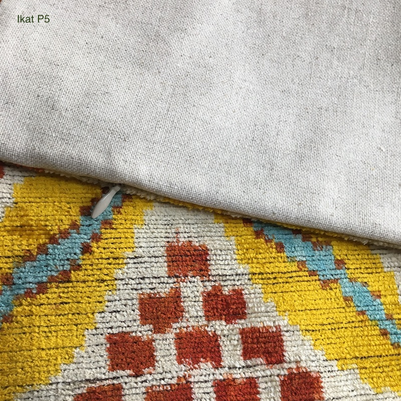 IKAT シルクピローケース【MD Home Collections】