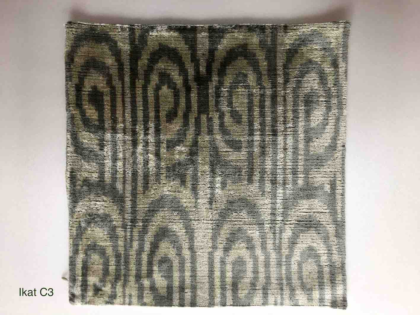 IKAT シルククッションカバー【MD Home Collections】