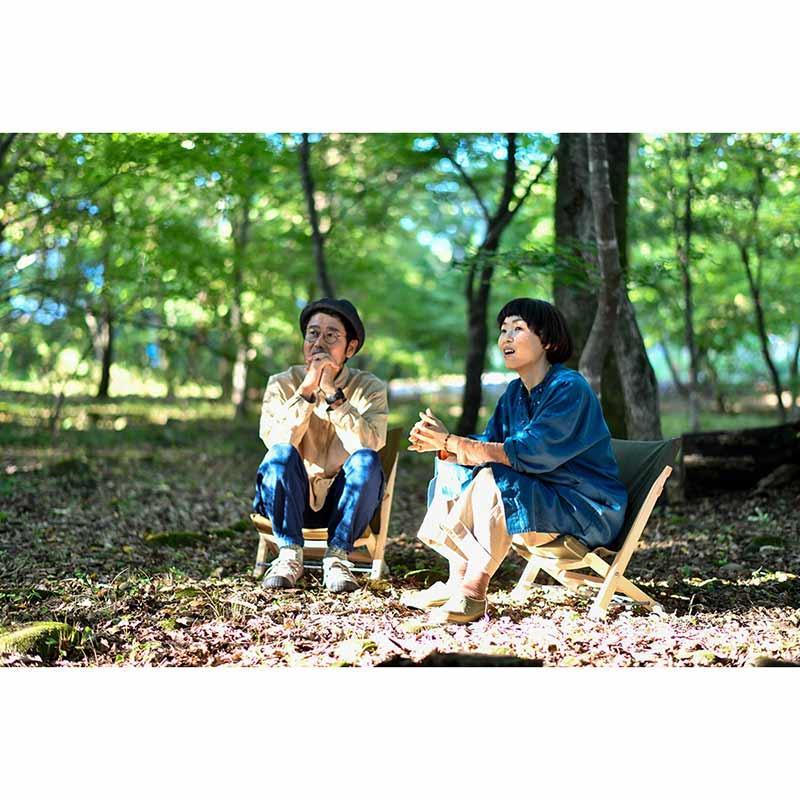 Owen's Chair mini|折りたたみチェア ミニ 【pioneer plants】/クマのオーウェンさんのイス ミニ