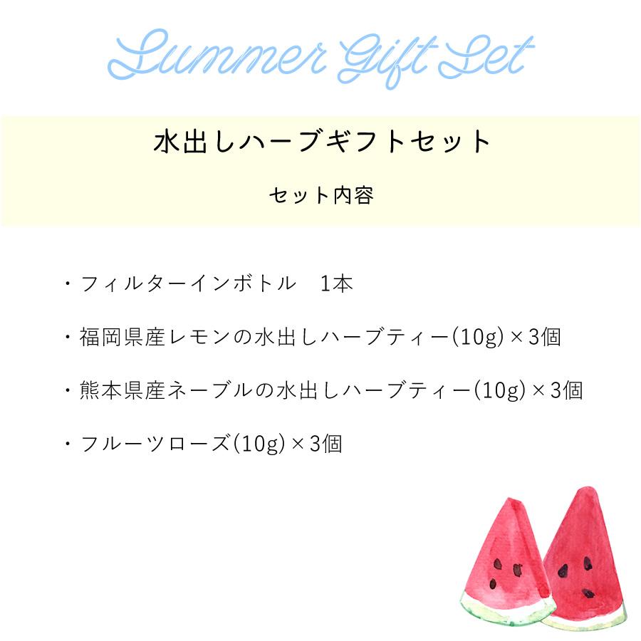 【夏季限定】水出しハーブティーギフトセット
