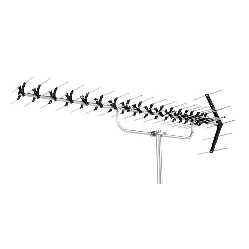 高性能形UHF20素子アンテナ(ローチャンネル)