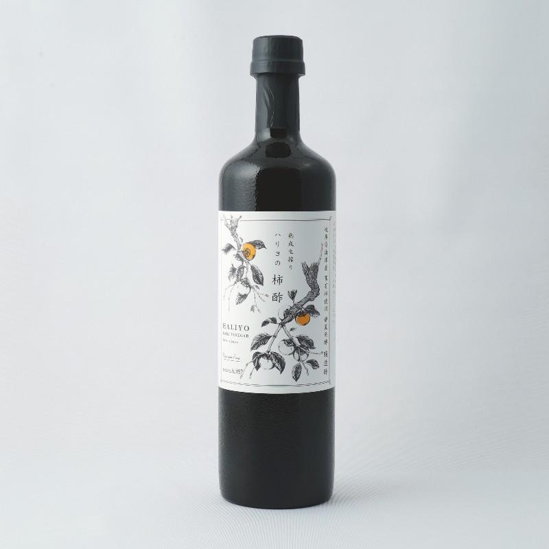 ハリヨの柿酢 熟成生搾り 720ml