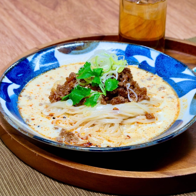 【 笠間麺風土記 和 】豆乳うどん・常陸秋そば 各4食セット