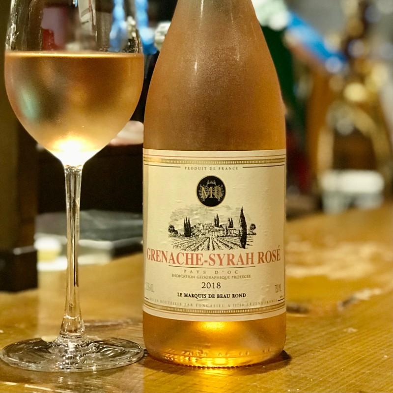 南仏セット【マルキ・ド・ボーラン】ロゼワイン「グルナッシュ・シラー」 & 赤ワイン「シラー」 各750ml