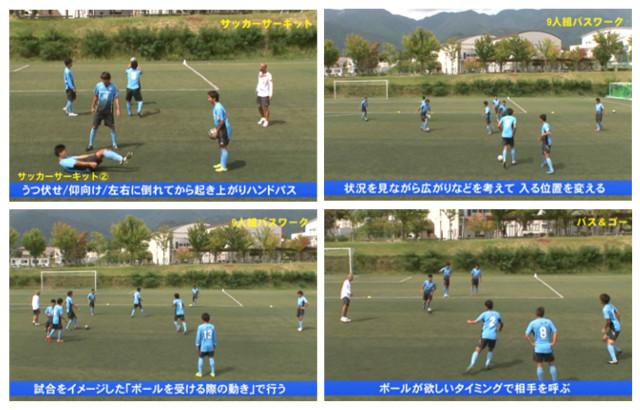 望月聡の「インテリジェンスを育てる」サッカートレーニング