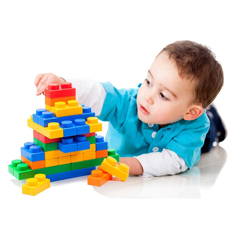 UNIPLAY(ユニプレイ) ソフトブロックMix120 おもちゃ ブロック