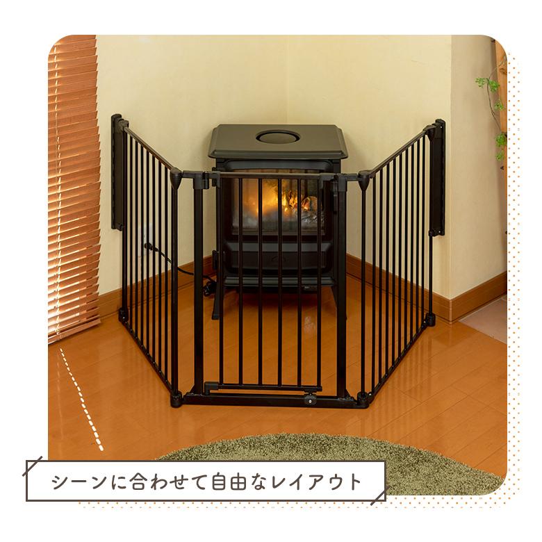 日本育児 アレンジゲート&サークル 75