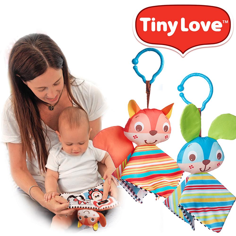 日本育児 TinyLove(タイニーラブ)タイニースマート シャカシャカ リス/バニー