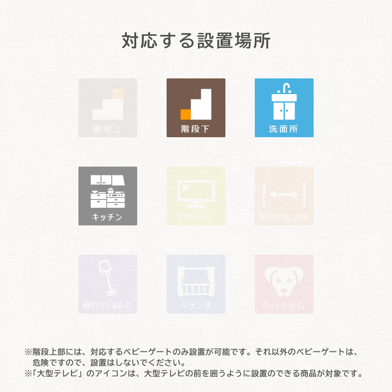 日本育児 おくだけとおせんぼ Lサイズ プレート幅60cm