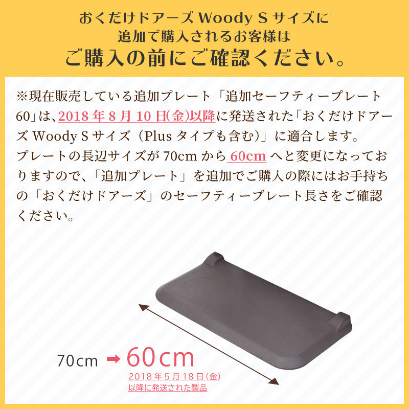 日本育児 追加セーフティープレート60