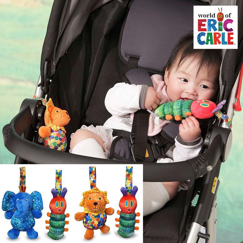 日本育児 EricCarle(エリックカール)  はらぺこあおむし チャイムトイ エレファント&あおむし/ライオン&あおむし