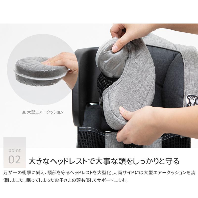 日本育児 コンパクトチャイルドシート トラベルベストEvo(エヴォ)