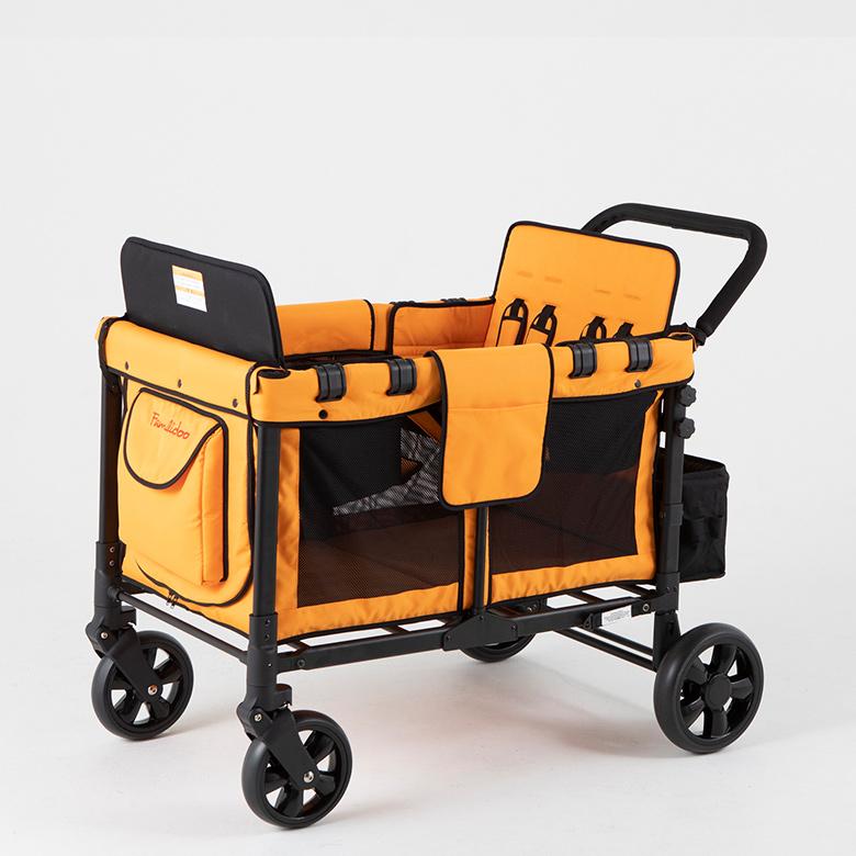 Familidoo プリスクールワゴンW4専用シート 2乗りシート 2セット