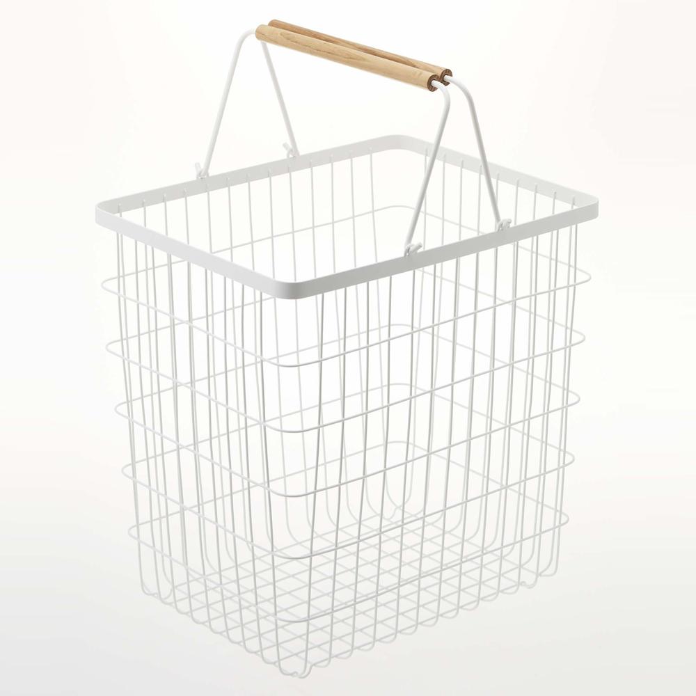 トスカ ランドリーバスケット ワイヤー バスケット L 33L 山崎実業 tosca