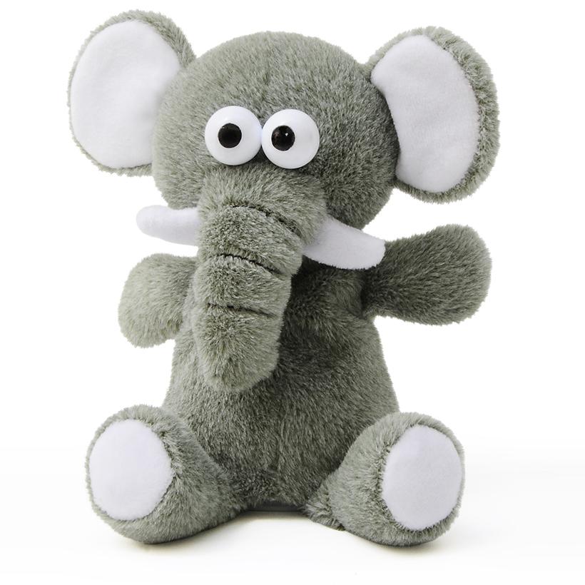 マイムフレンズ Mime Friends エレファント ぞう ゾウ 象 かわいい ぬいぐるみ おもちゃ オウム返し ものまね Elephant