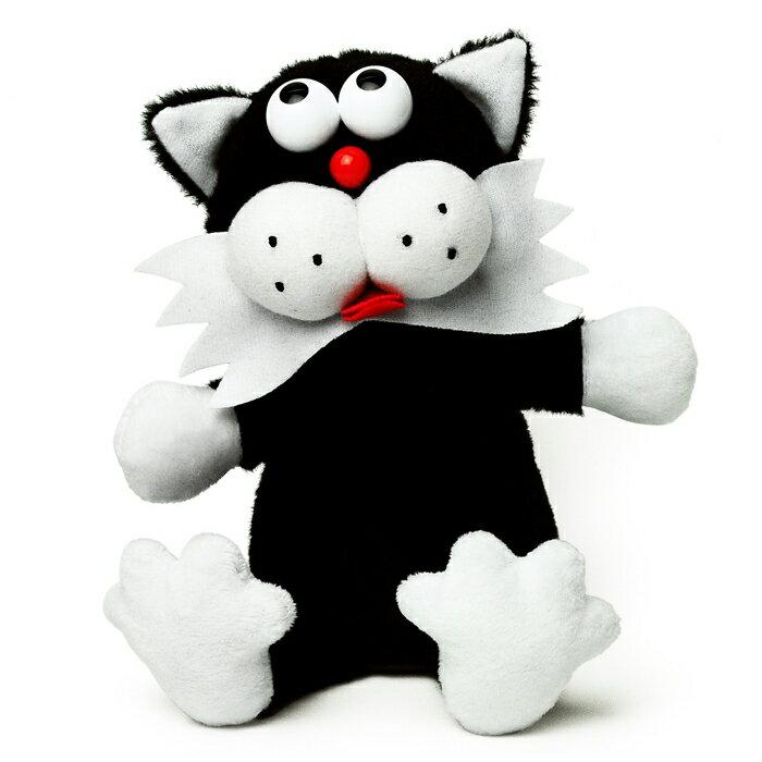 マイムフレンズ Mime Friends キャット ブラック ものまね ぬいぐるみ オウム返し ねこ ネコ クロネコ くろねこ 黒猫 かわいい おもちゃ Cat black