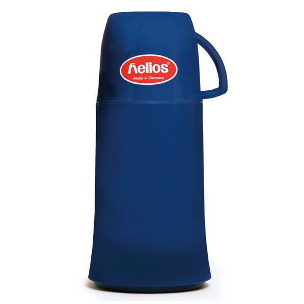 helios ヘリオス エレガンス 250ml ブルー elegance 卓上魔法瓶 ガラス魔法瓶  魔法瓶 ポット ガラスポット