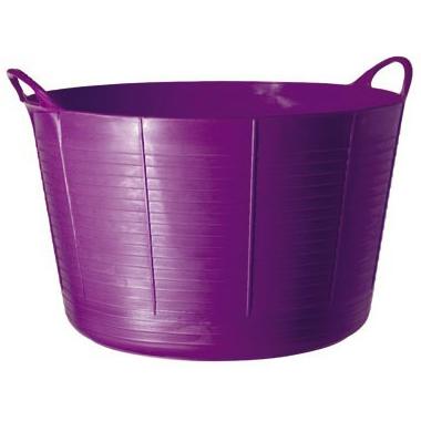タブトラッグス TUBTRUGS XLサイズ パープル 紫 75L カゴ 籠 ケース FAULKS&COX
